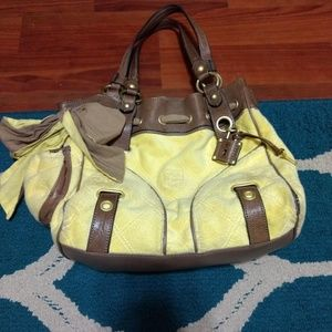 Yellow juicy couture purse